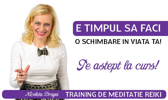 Curs Training de Meditatie Reiki